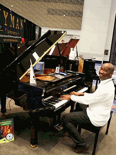 Larry Gittens Endorses Wyman Pianos